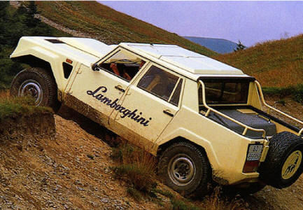 there's a mint condition lamborghini lm002 lm/american for sale