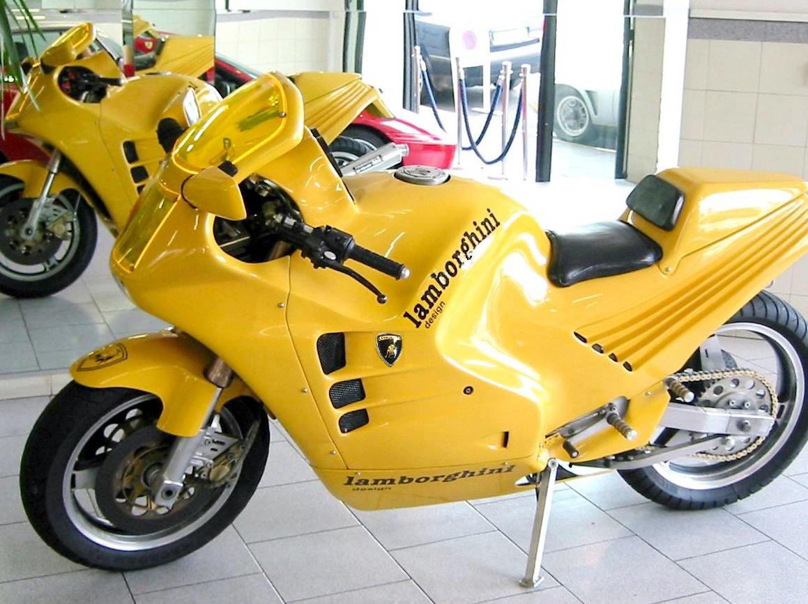 Lamborghini Motorcycle For Sale At Autodrome Paris