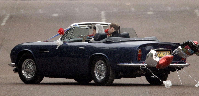 Aston Martin Volante MKII.