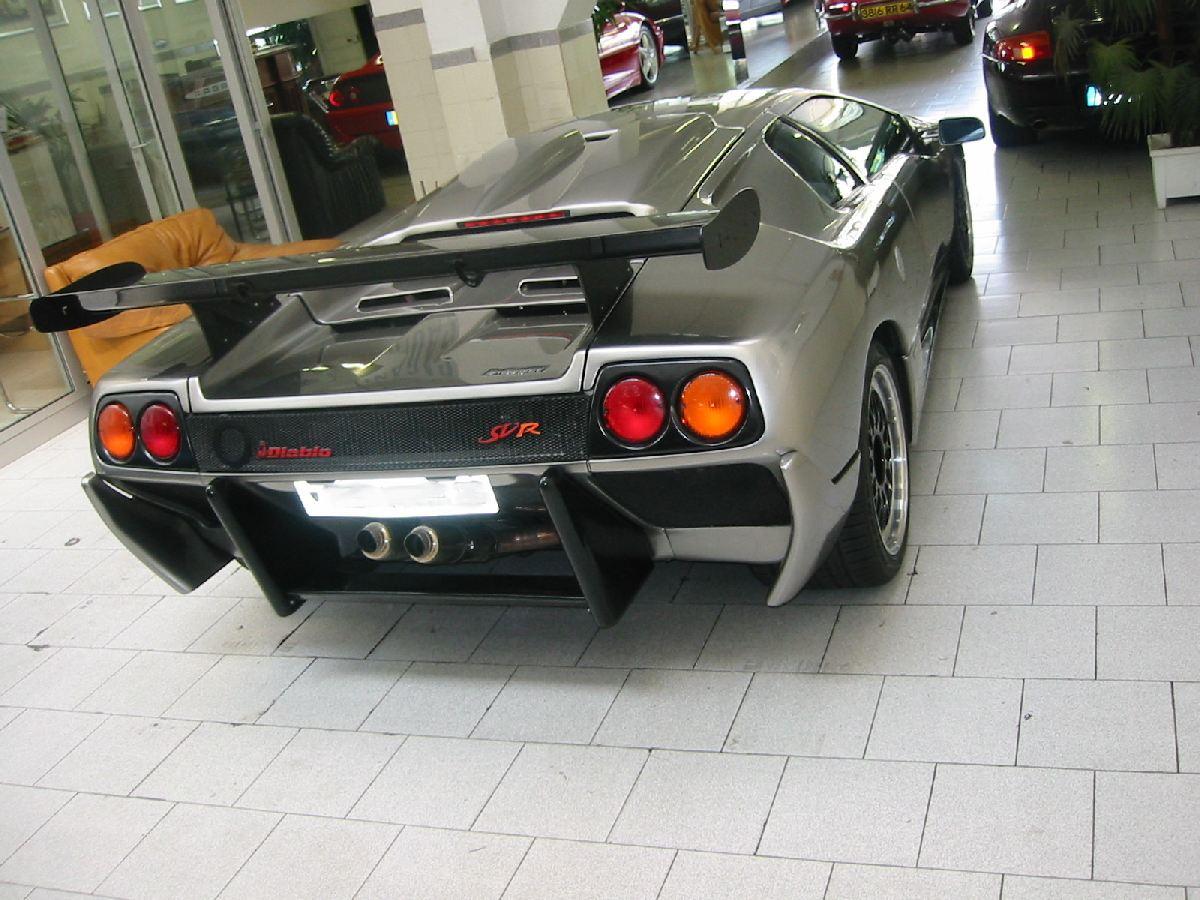 Lamborghini Diablo Svr Chez Autodrome Paris