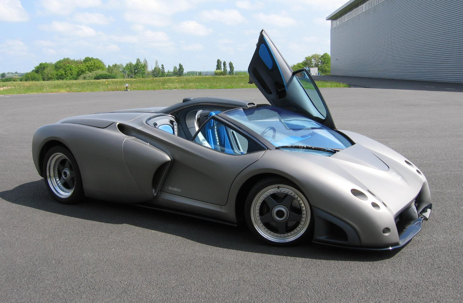 Lamborghini Pregunta V12 Roadster Prototype At Autodrome Paris
