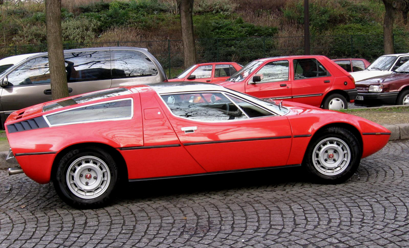 One of the 500 Maserati Bora